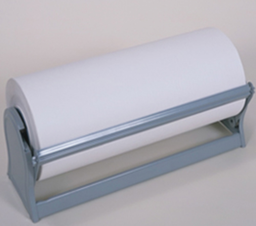 Deluxe All In One Paper Cutter Paper Roll Dispenser