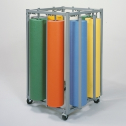Eight Roll Square Vertical Rack